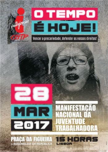 MANIFESTAÇÃO DE JOVENS TRABALHADORES A 28 DE MARÇO!